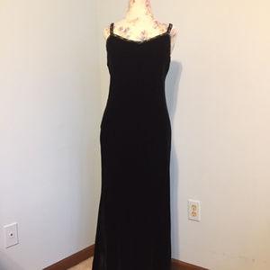Ralph Lauren Velvet Evening Dress - 4